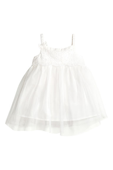 Tulle dress - White - Kids | H&M 1